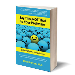 Book review: Say This, NOT That to Your Professor