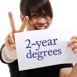 Answers about associate degrees